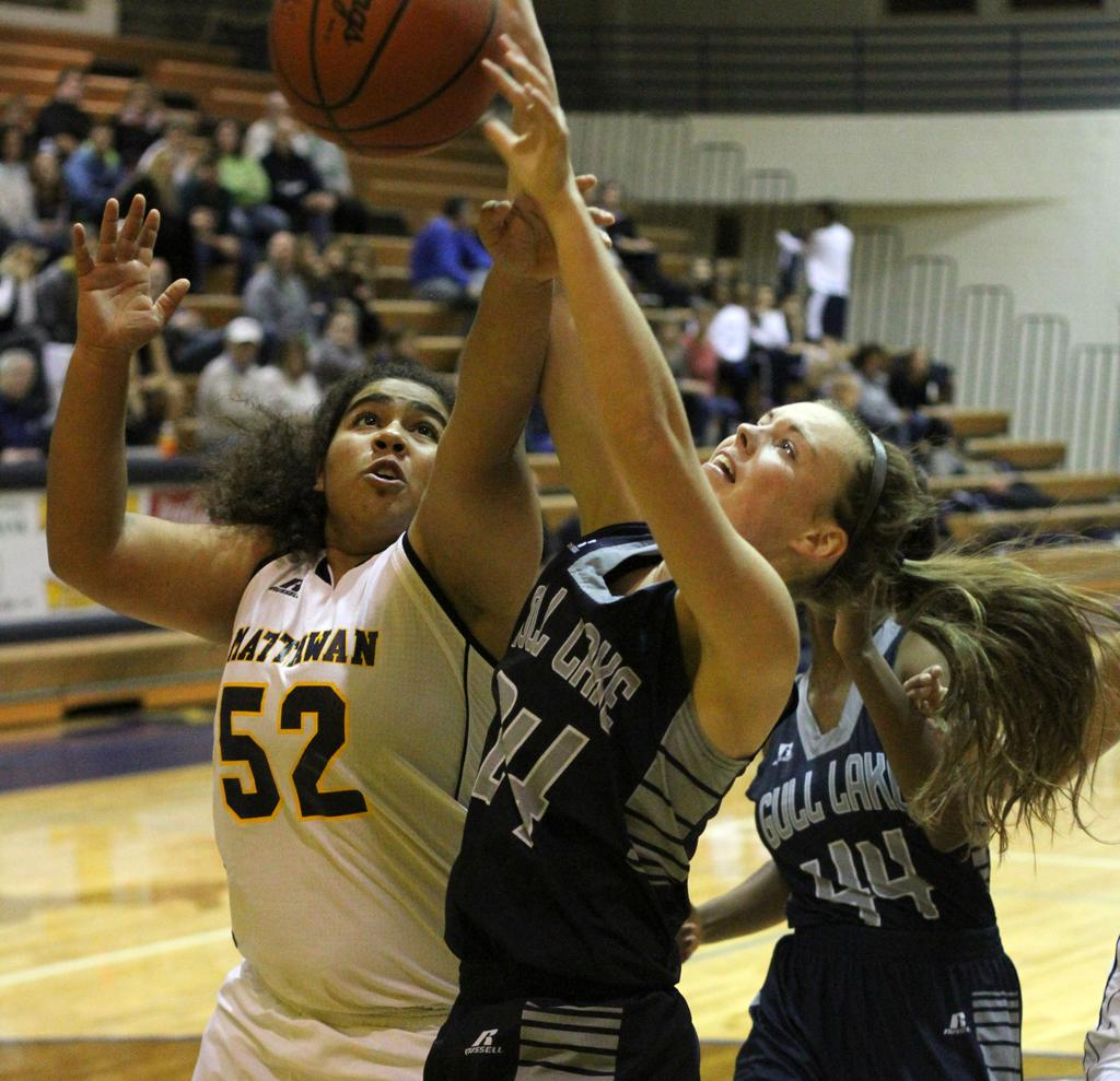 Gull Lake starts out hot and never lets up in 50-14 girls basketball win over Mattawan