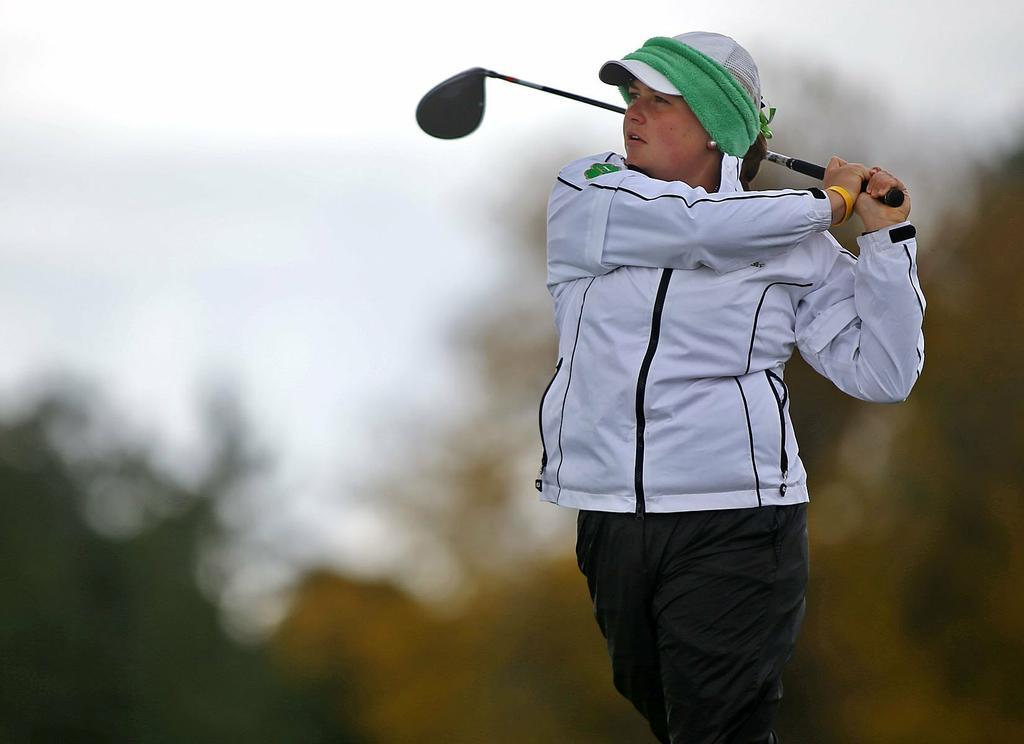 Hackett Catholic Prep's Lizzie Stull named 2015 MLive Kalamazoo girls Golfer of the Year