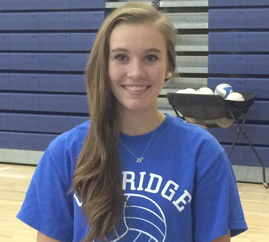 Italian Foreign Exchange Student Stefania Garofolo Making A Difference For Oakridge Volleyball Team