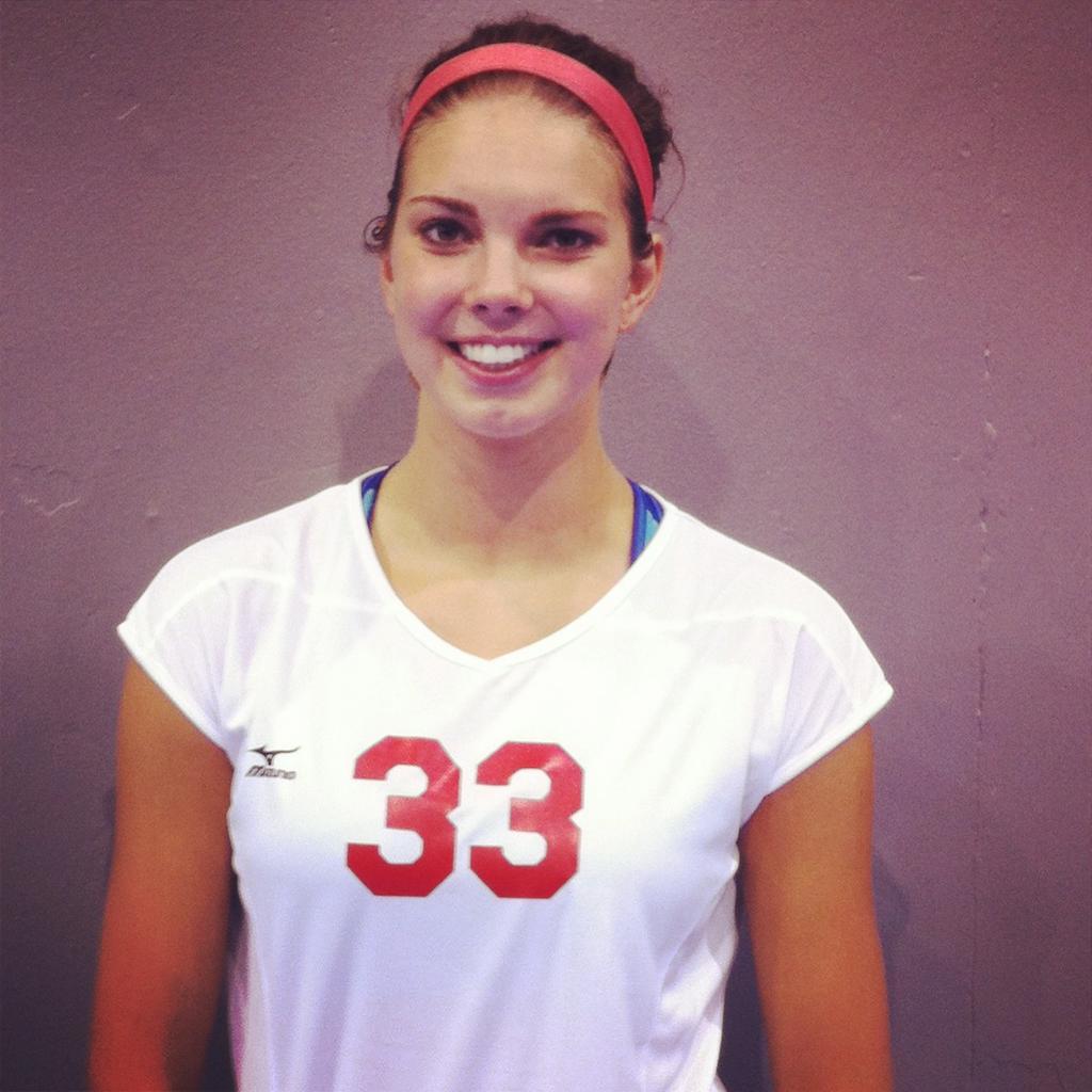 Abby Cole enjoys final high school volleyball match as ...