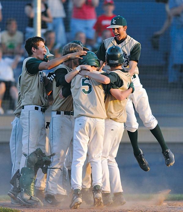 Hillsdale High School baseball coach Chris Adams summed up the championship