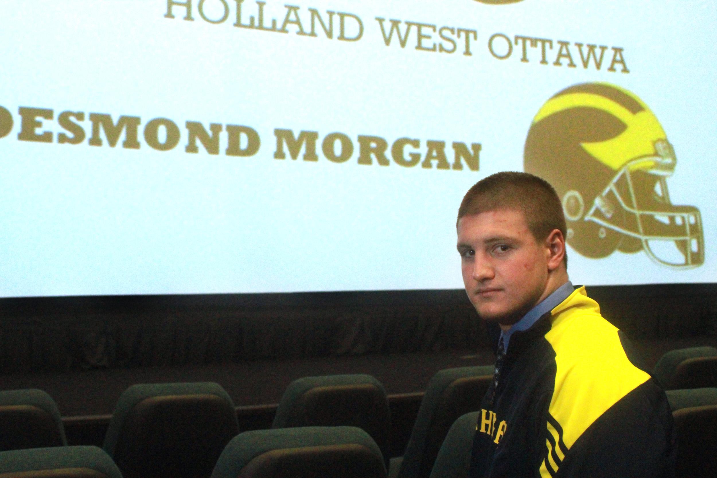 West Ottawa's Desmond Morgan