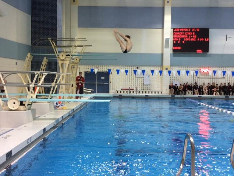 Diver Jake Herremans Of Rockford Wins Second Straight