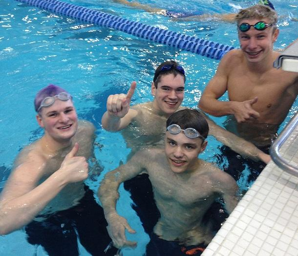 Logan Carson Shatters School Record As John Glenn Bay City Central Place Swimmers Among State 39 S