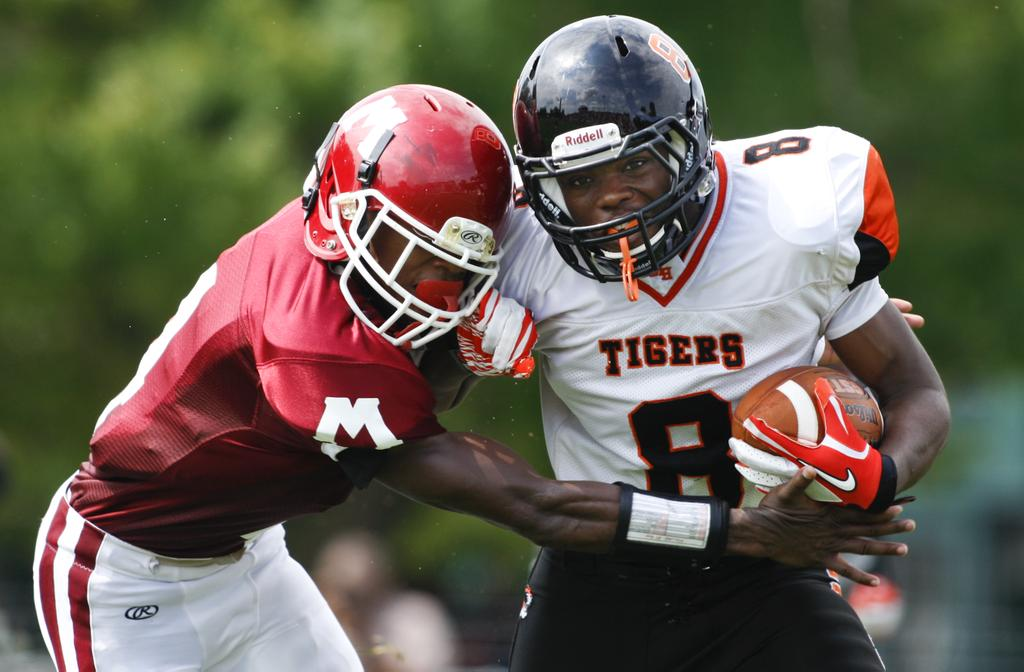 Division 2 state title game preview: Muskegon Big Reds gearing up ...