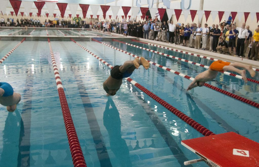 Holland West Ottawa Boys Swimming Team Takes Second At