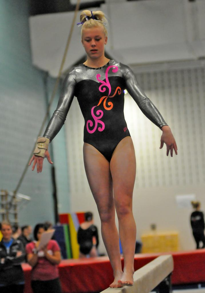 national high school gymnastics meet florida