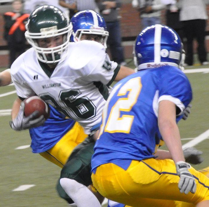 Williamston and Lansing Catholic square off in football in battle of undefeated teams for CAAC White championship