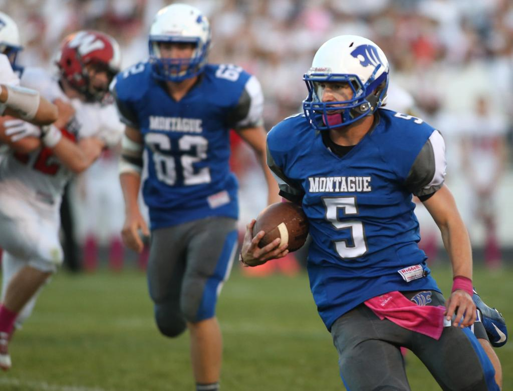 Two A Days 5 Things To Know About Montague Football Mlive Com