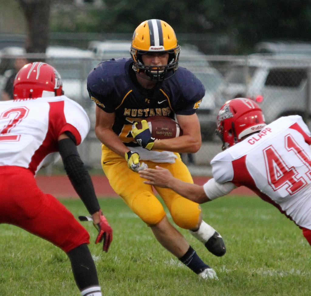 Portage Central Football Team Overcomes Fumble In End Zone Rallies
