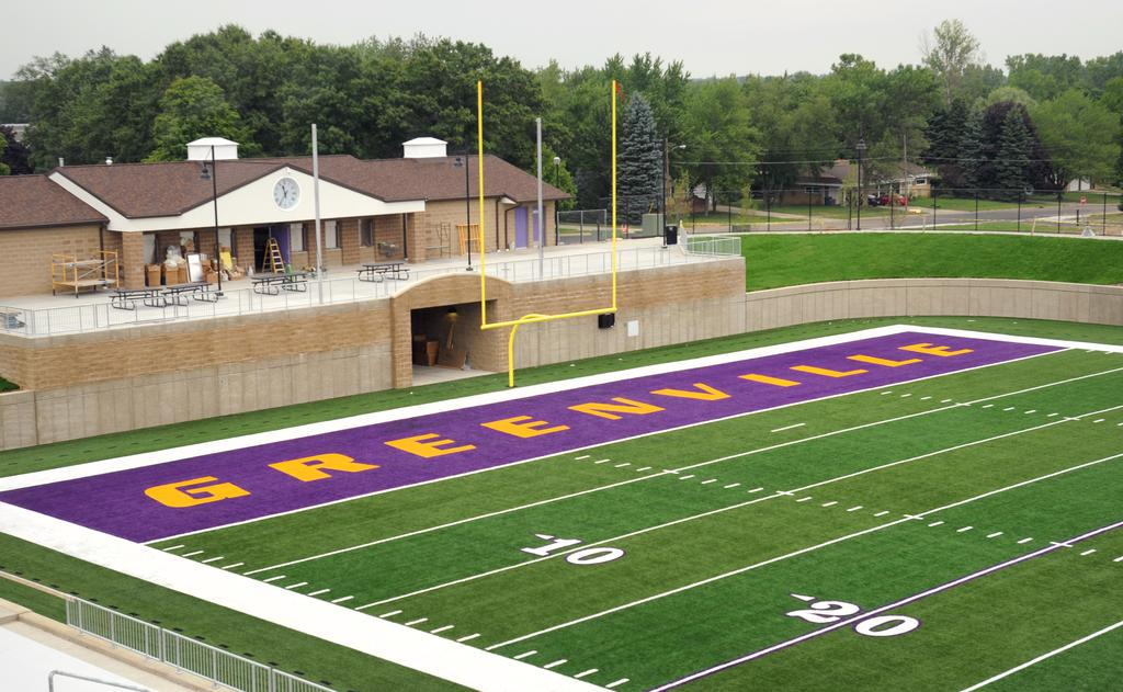 Legacy Field Creates New Environment For Greenville Team