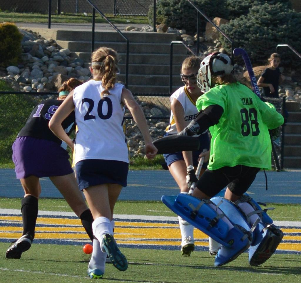 Doan makes a huge save to help chelsea defeat pioneer al wright