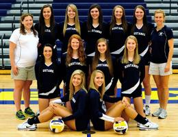 Girls Volleyball Portage Central