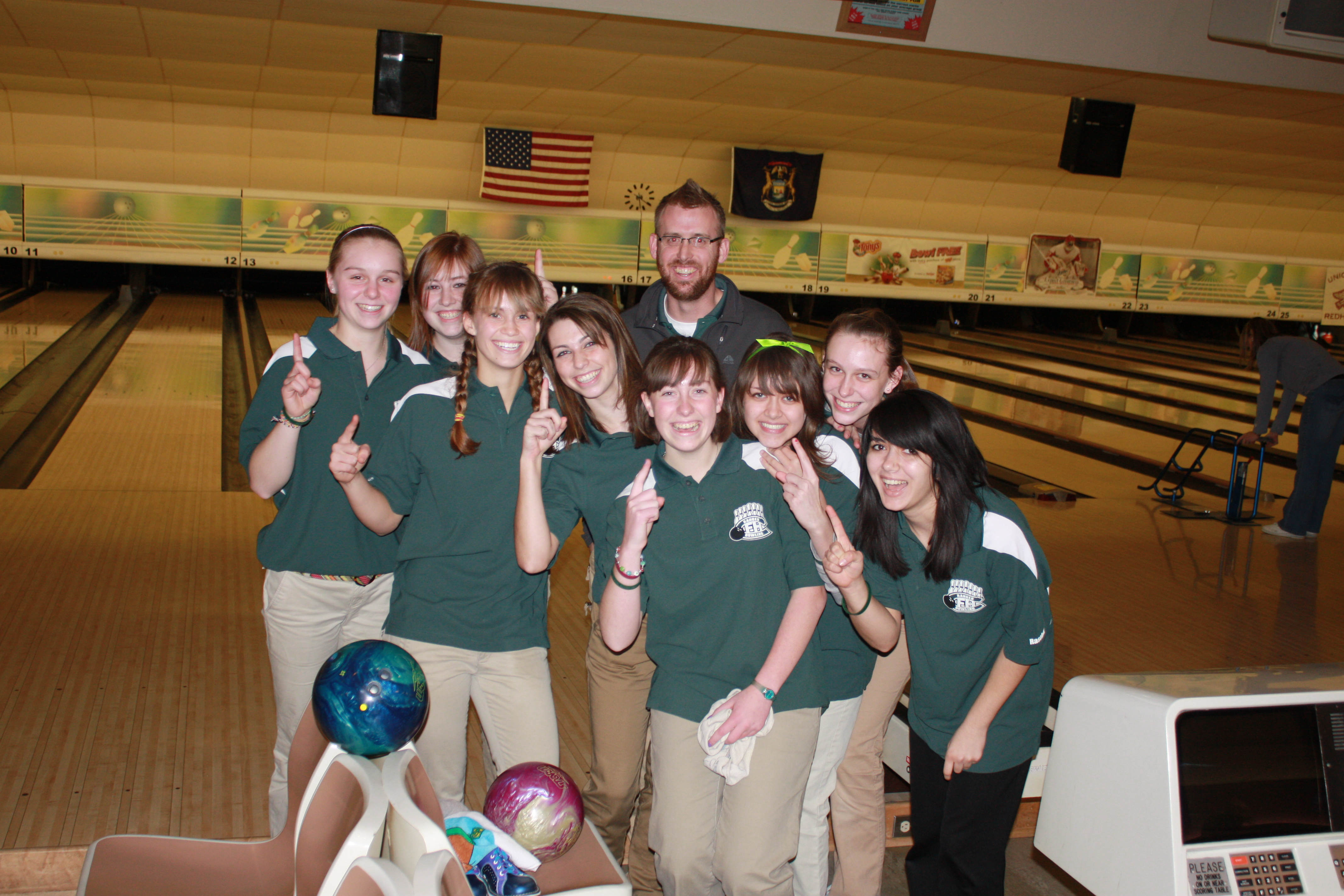 Girls Bowling Grand Rapids Forest Hills Central