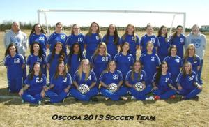 Girls Soccer Oscoda
