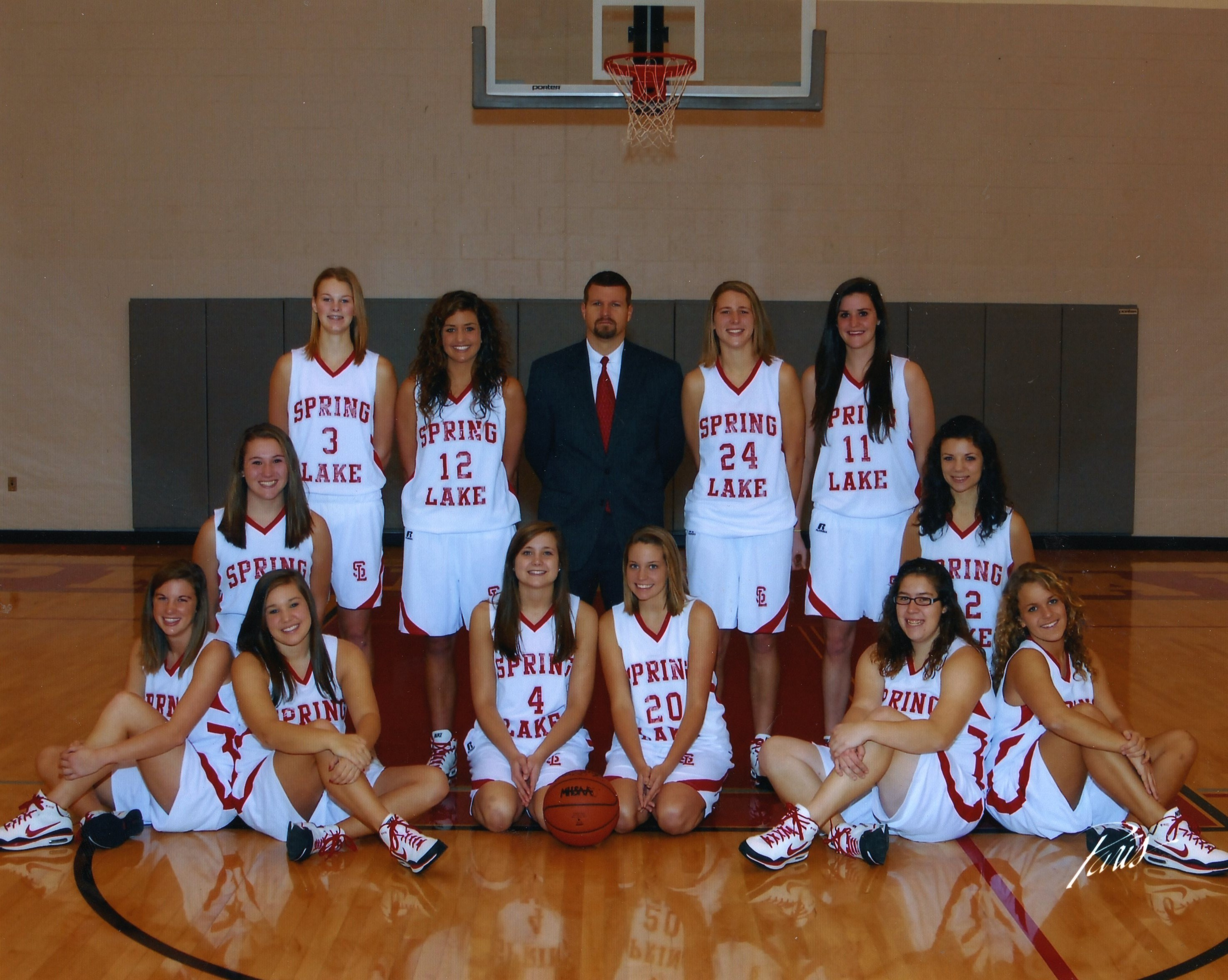 Girls Basketball Spring Lake