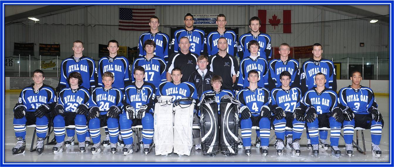 Boys Ice Hockey Royal Oak