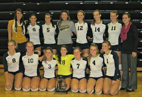Girls Volleyball Hudsonville