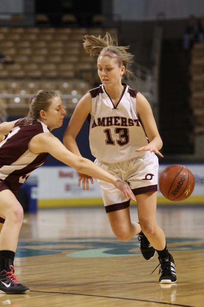 Amherst girls basketball holds off Northampton 56-50 in ...
