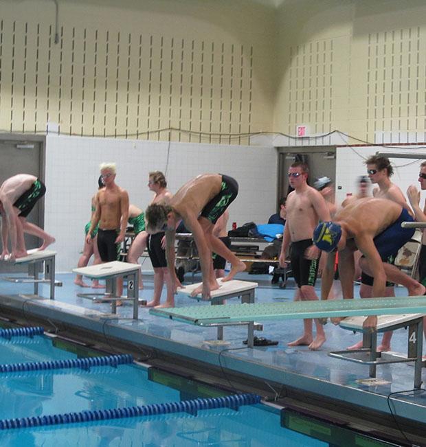 swimmer diver james webber leads minnechaug boys swimming. Black Bedroom Furniture Sets. Home Design Ideas