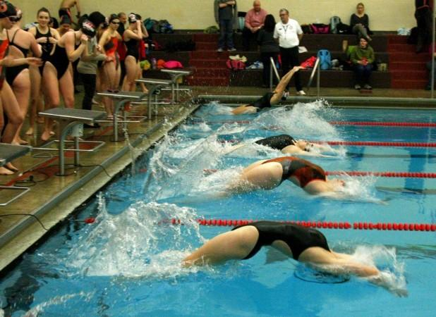 central east high school swimming pool western massachusetts girls swimming diving championship