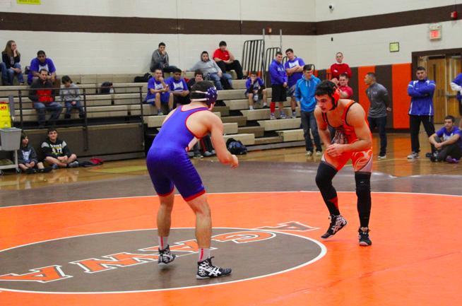 dual meet team scoring for wrestling