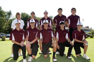 Boys Golf Amherst