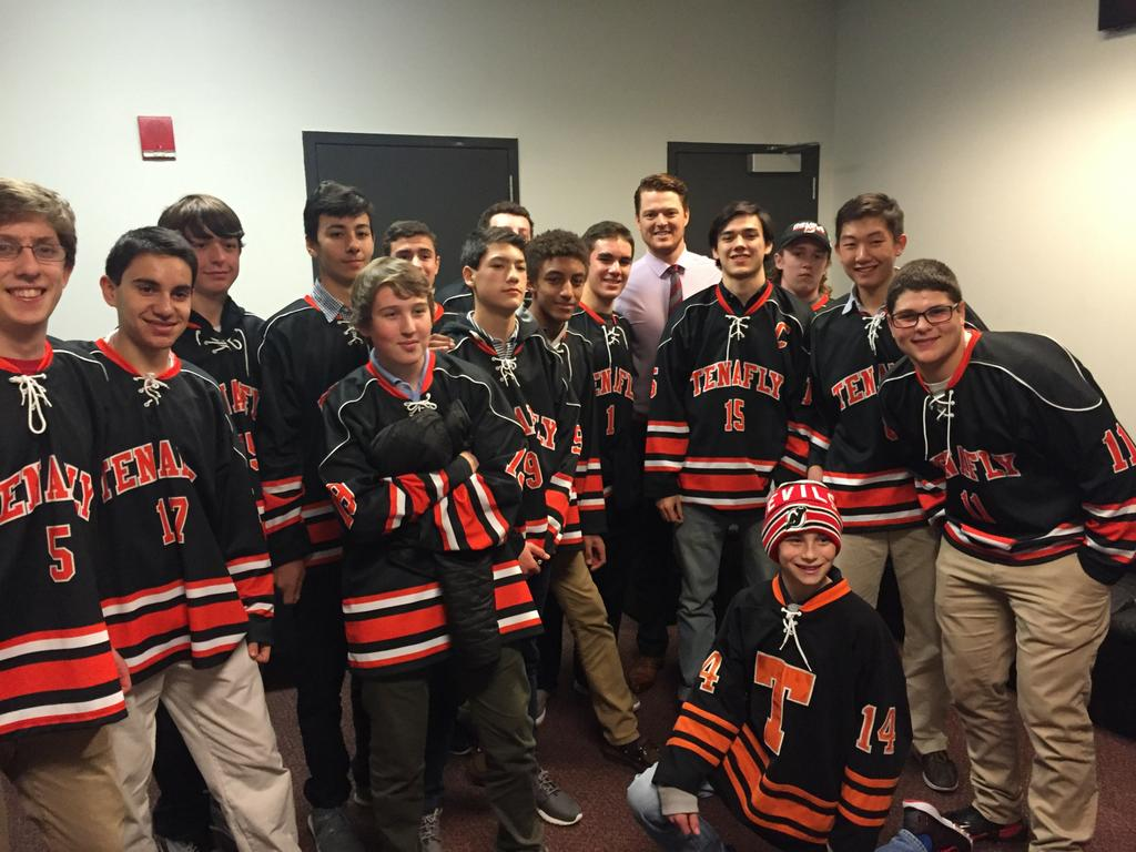 NJ H.S.: Ice New Jersey Devils Invite Tenafly To Game At Prudential Center To Discuss Goaltending Strategy