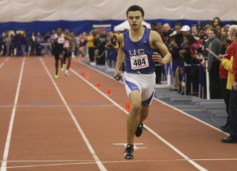 parochial athletic league track meet records building