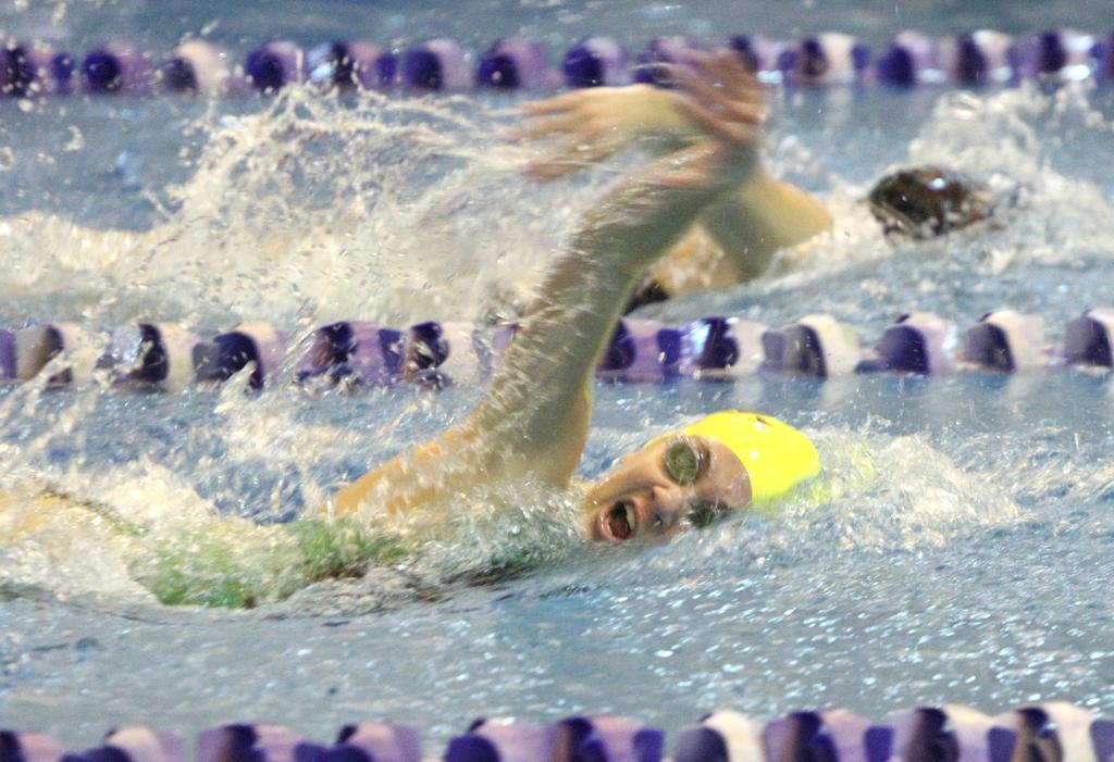 Gloucester Catholic girls swimming falls short of winning first playoff meet in loss to Bishop Eustace