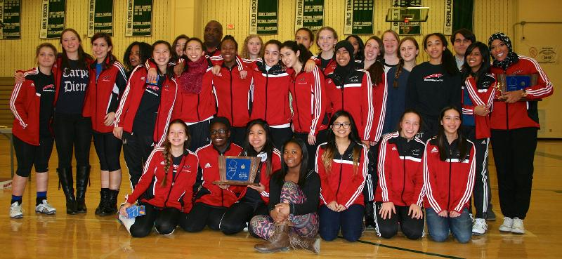 Girls Fencing Columbia Is The 2013 14 Team Of The Year