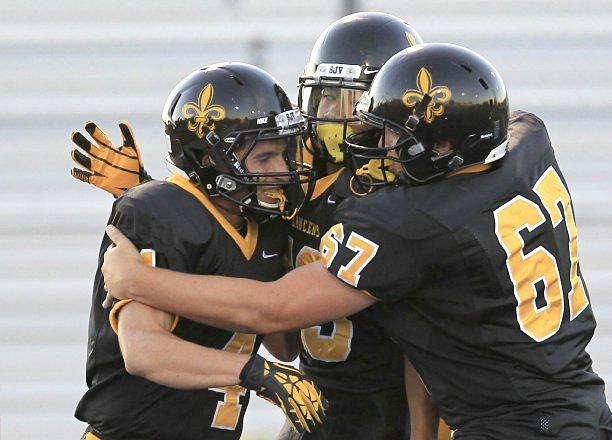 game day scores friday football schedule