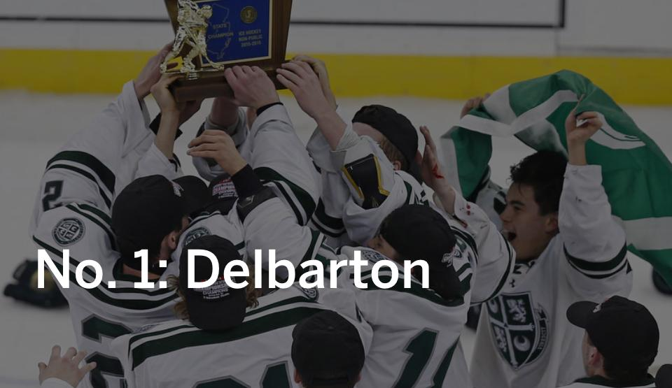 NJ H.S.: Ice Hockey Final Top 20 - Delbarton Is The NJ.com Team Of The Year For 2015-16