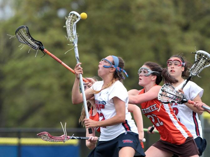 Washington Township girls lacrosse wins home finale