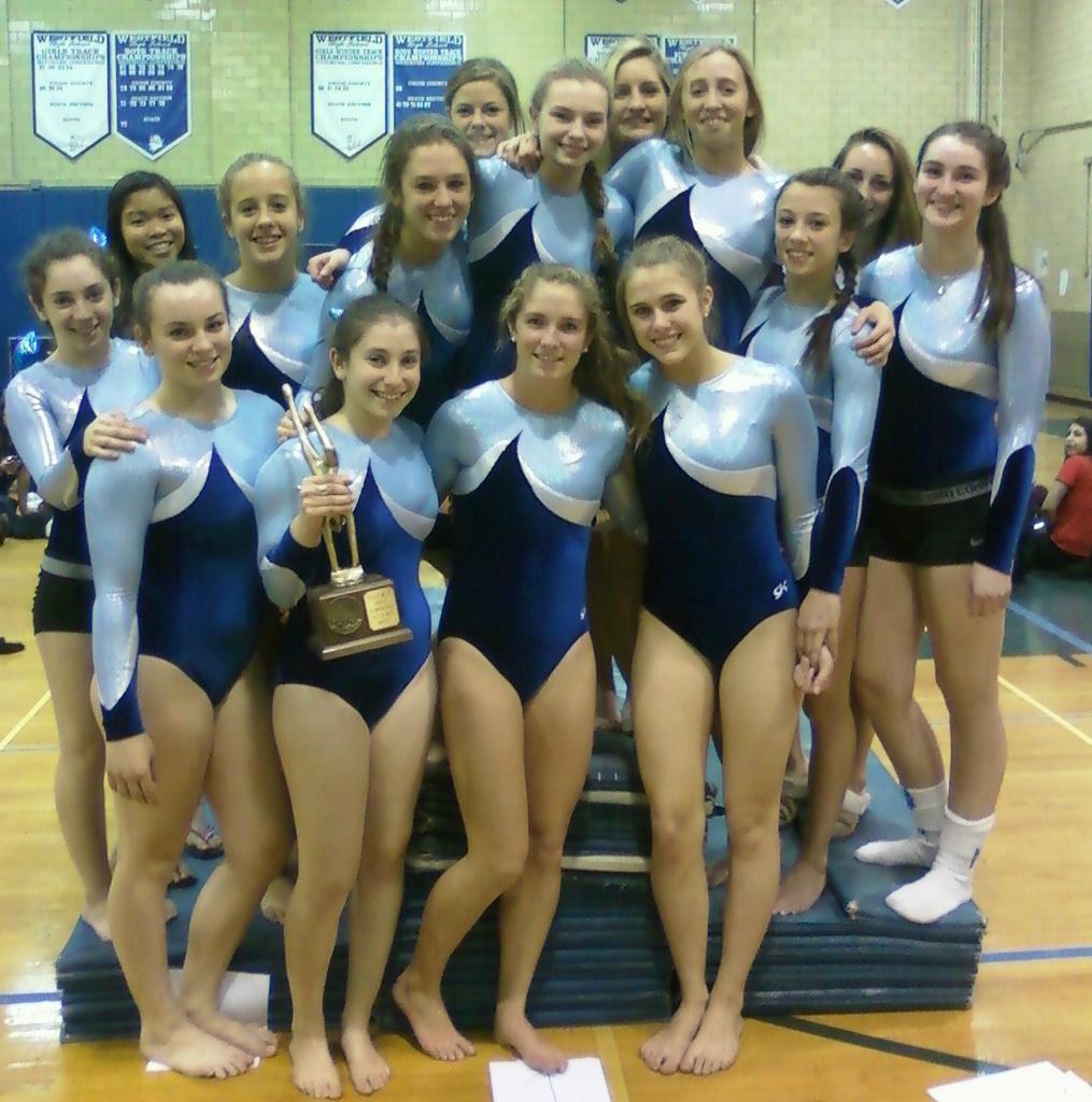 gymnastics Junior high school girls