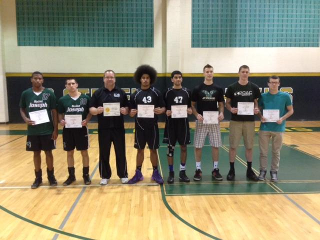 Boys Volleyball St Joseph Takes Greater Middlesex