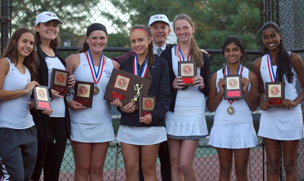 Girls Tennis Wayne Hills Wins The Passaic County