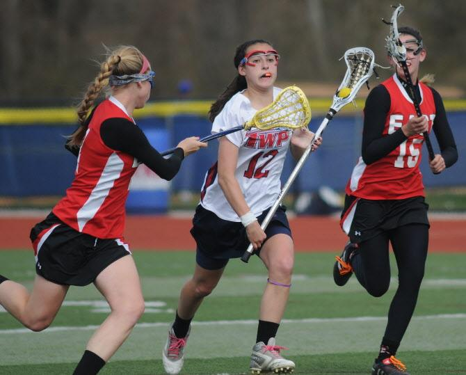 Washington Township girls lacrosse pulls away from Cherry Hill East late