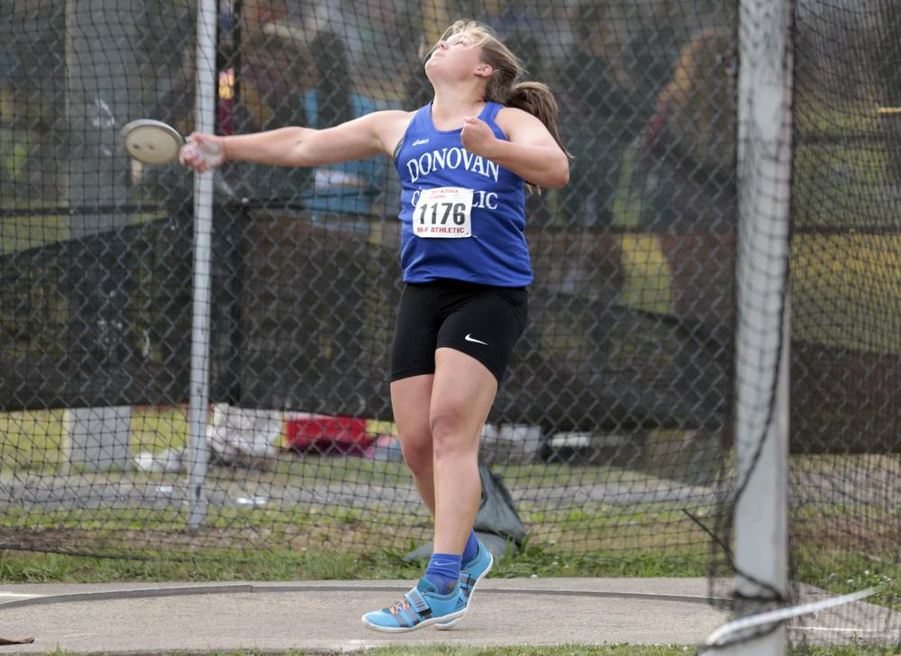 Alyssa Wilson Throws Another Personal Best In The Discus