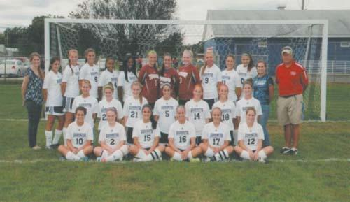 The washington township high school girls soccer team went 11 5 3 this
