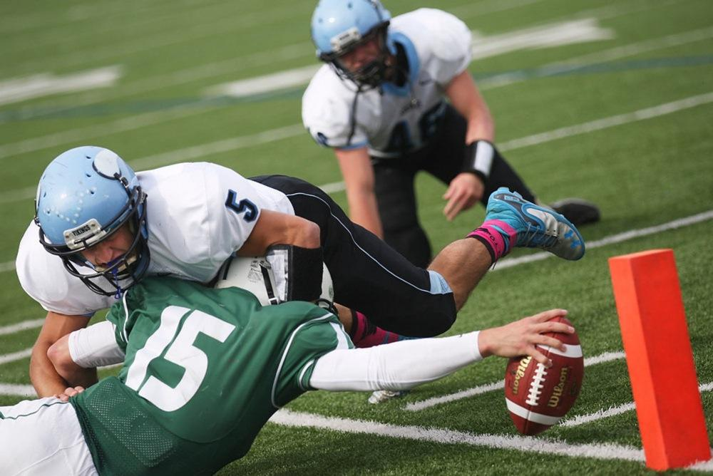 Football Delbarton Blanks Parsippany Hills 33 0 Nj Com
