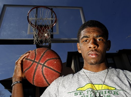 1dffe759274 NJ boys basketball  Kyrie Irving of St. Patrick is State Player of Year - NJ .com