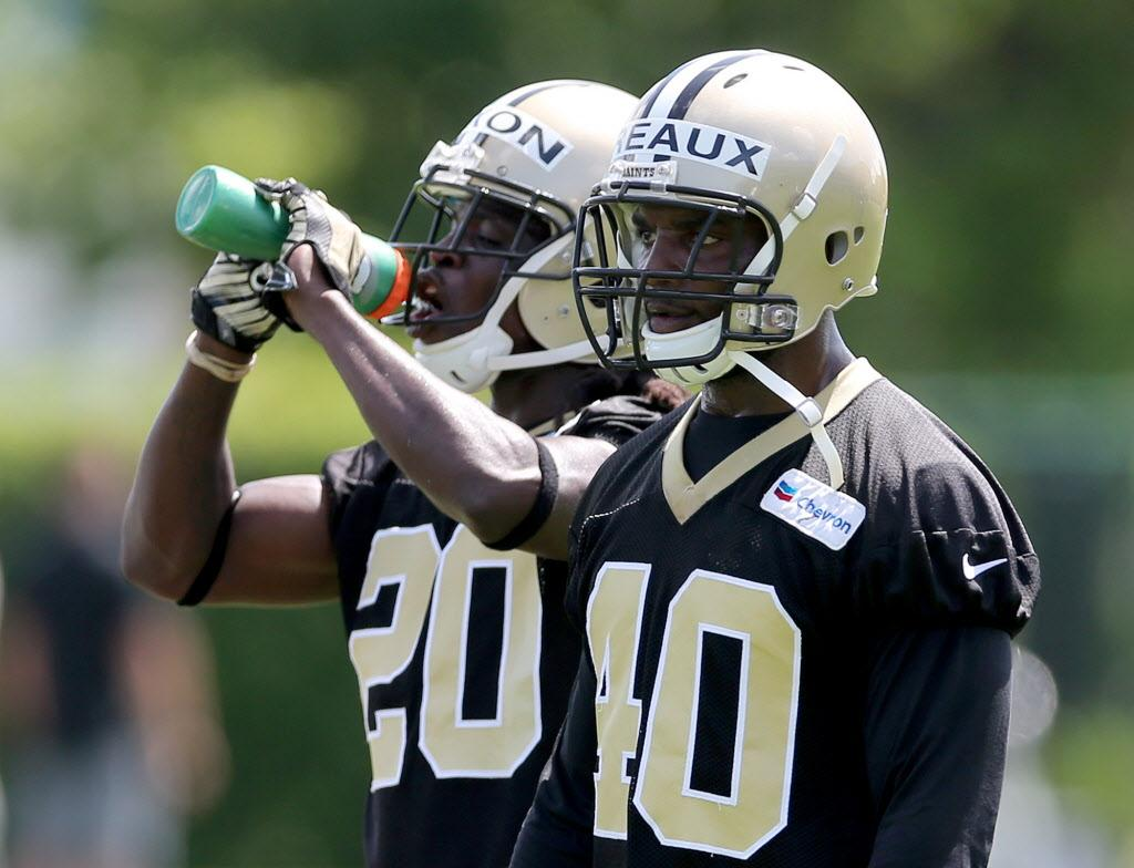 Saints player New Orleans native Delvin Breaux initially thought