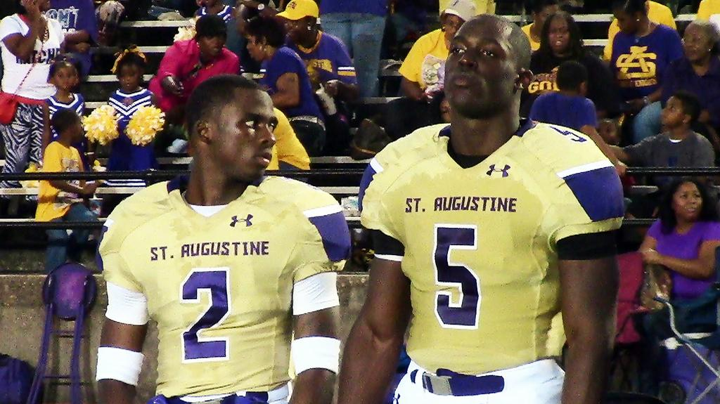 Leonard Fournette Powers St Augustine Past Curtis 29 28