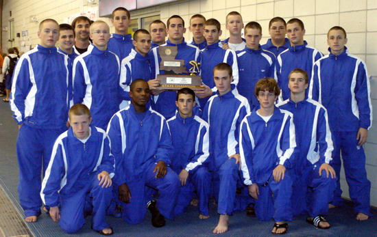 Boys Swimming Jesuit