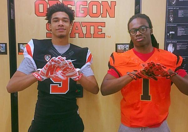 Mason Elliott, Jason Rucker, Westview duo, visits Oregon State Beavers