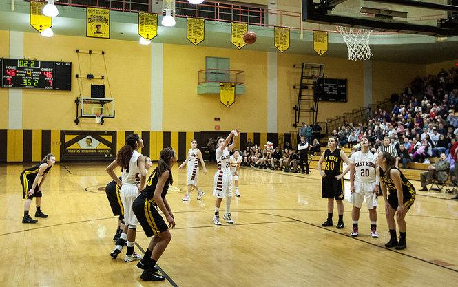 Michaela Gelbaugh's two free throws with 2.2 seconds left completes CD East's comeback against ...