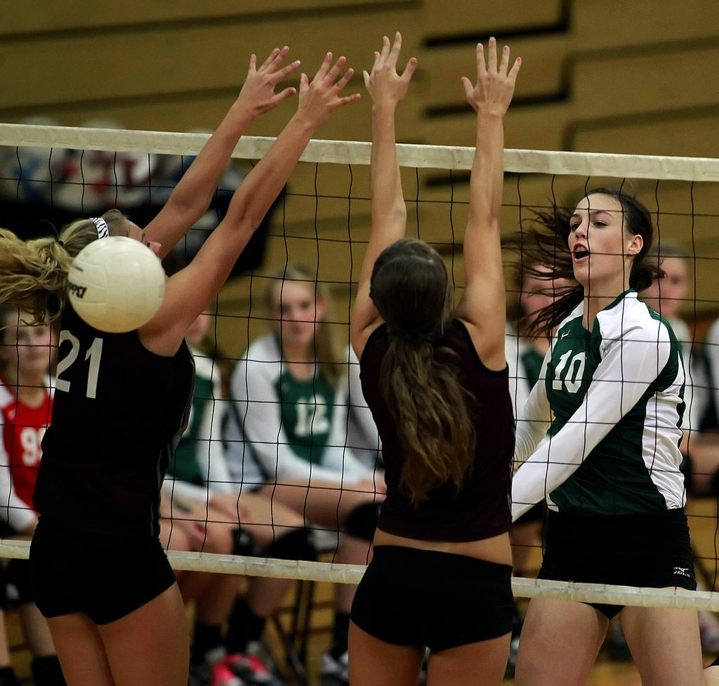 HS Girls' Volleyball: Trinity's Hannah Fry headed to Northeastern University - PennLive.com