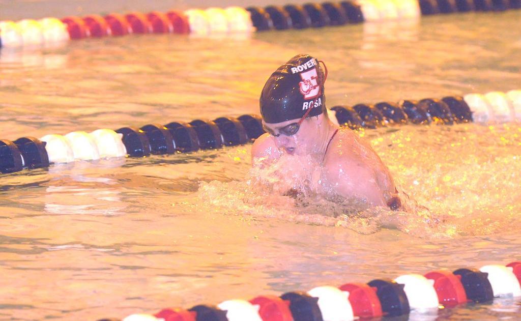 Easton Swimmer Amanda Rosa Commits To Towson University