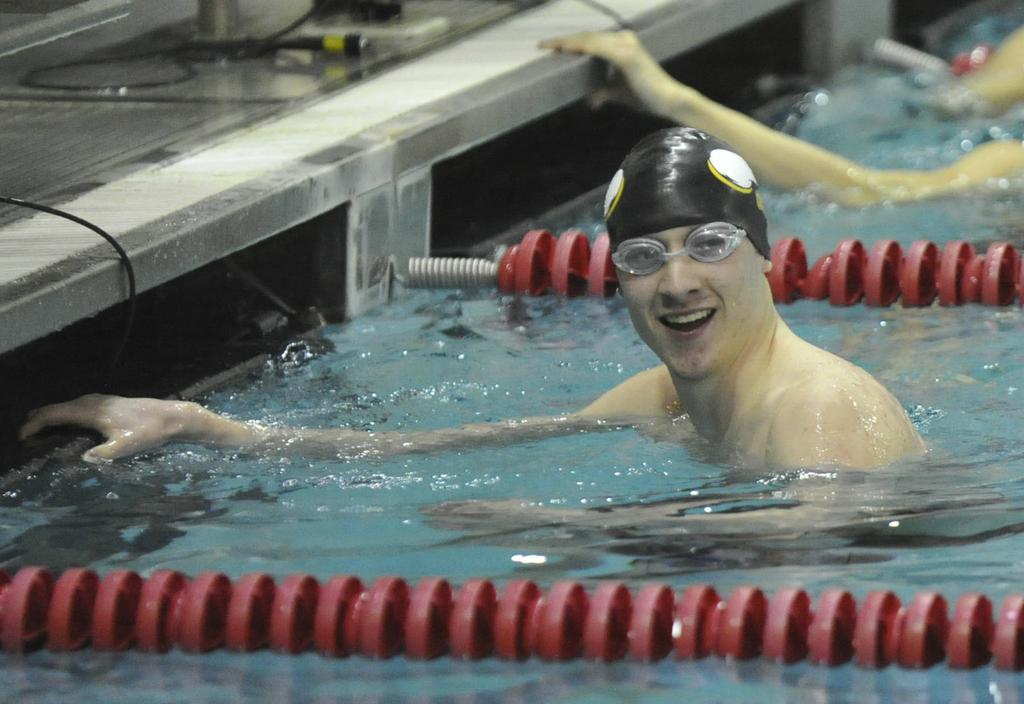 Gabe Castano 39 S Leadership Key To Central Catholic Swimming Success
